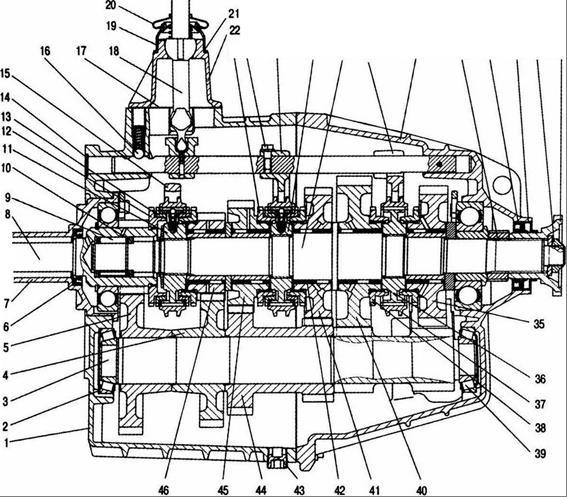 КПП Газ-33104, 33106. двиг д 245.