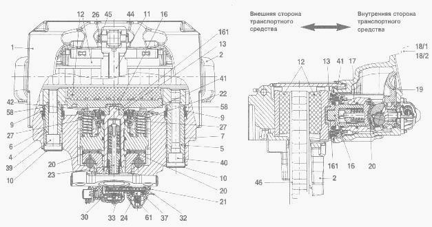 механизма Валдай ГАЗ-3310,