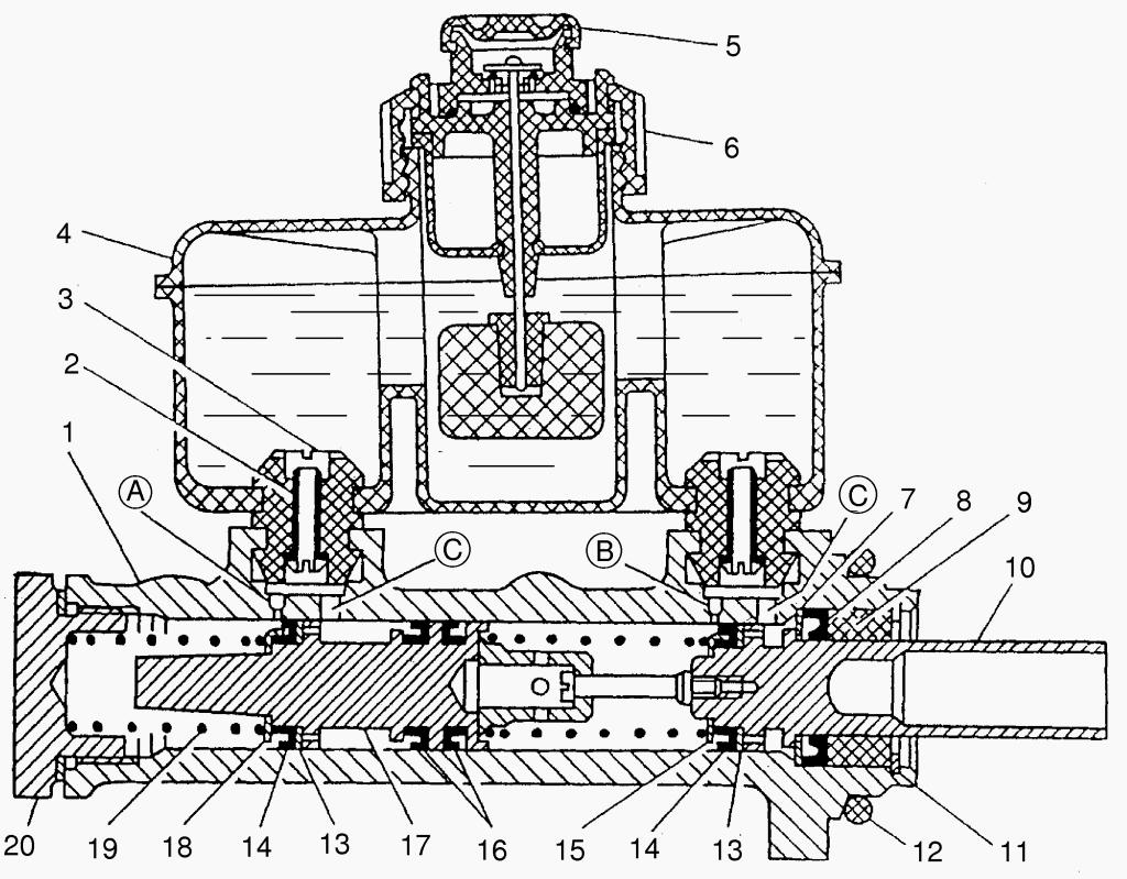 Газель тормозная система схема фото 614