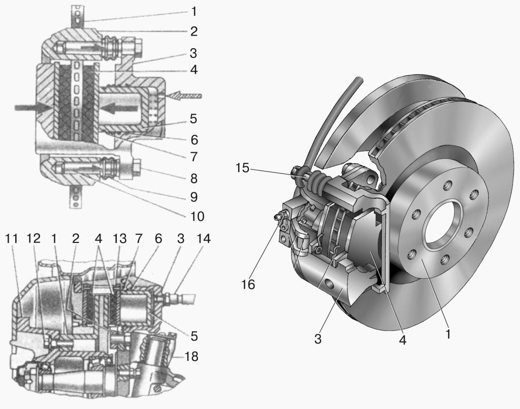 Газель тормозная система схема фото 299