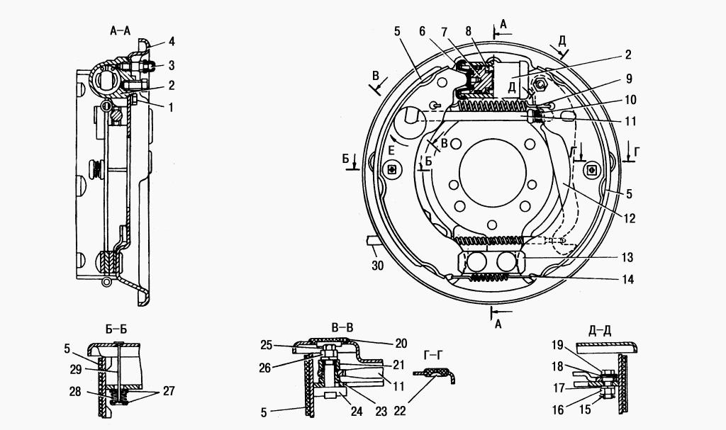 колес Газель ГАЗ-2705